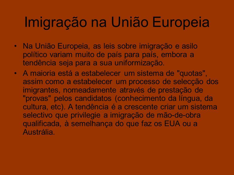 Imigração na União Europeia