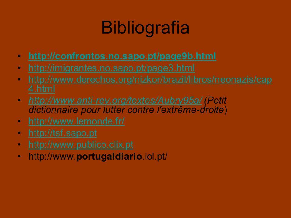 Bibliografia http://confrontos.no.sapo.pt/page9b.html