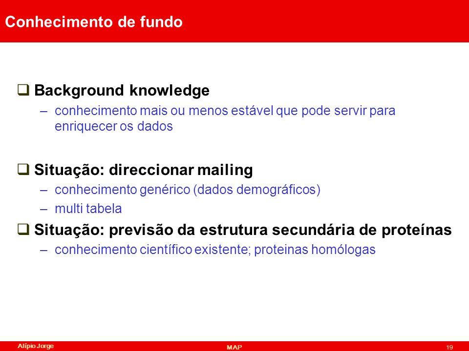 Situação: direccionar mailing