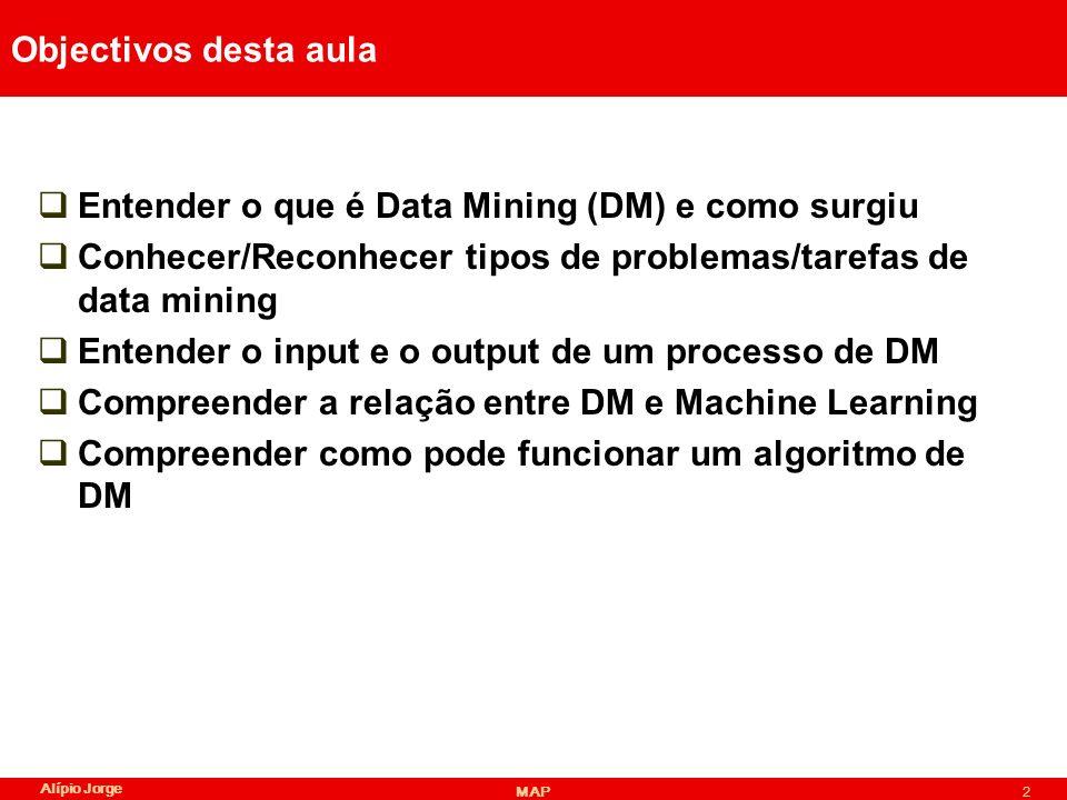 Entender o que é Data Mining (DM) e como surgiu