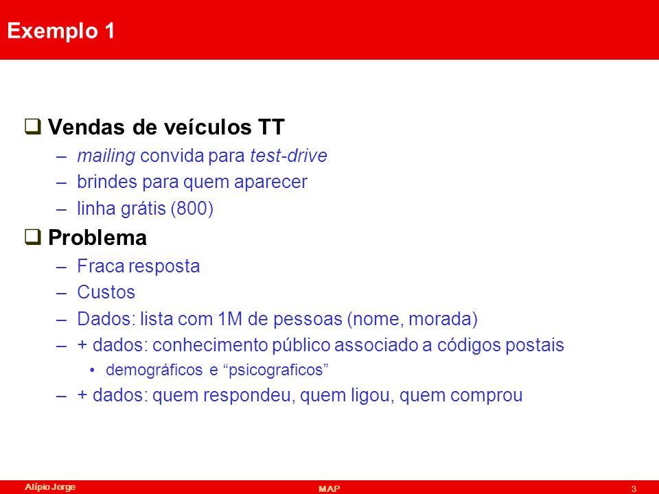 Exemplo 1 Vendas de veículos TT Problema