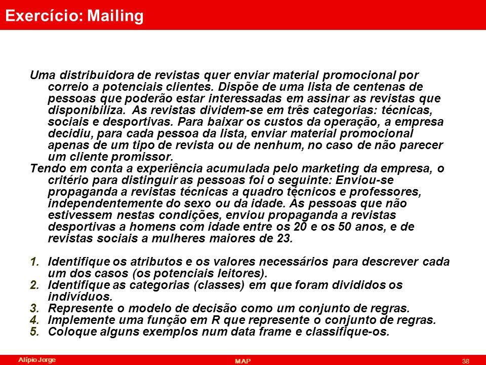 Exercício: Mailing
