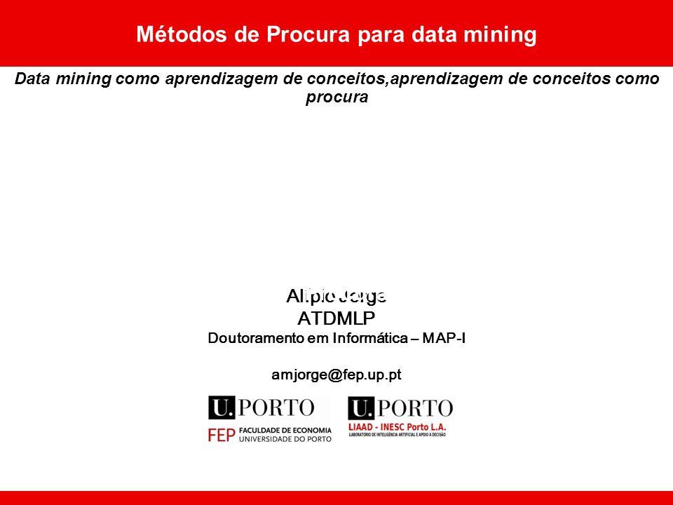 Métodos de Procura para data mining