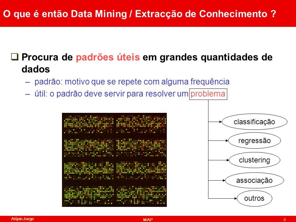 O que é então Data Mining / Extracção de Conhecimento