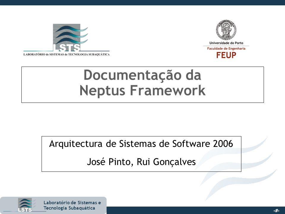 Documentação da Neptus Framework