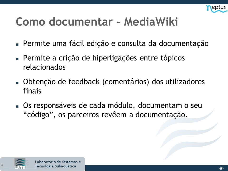 Como documentar - MediaWiki