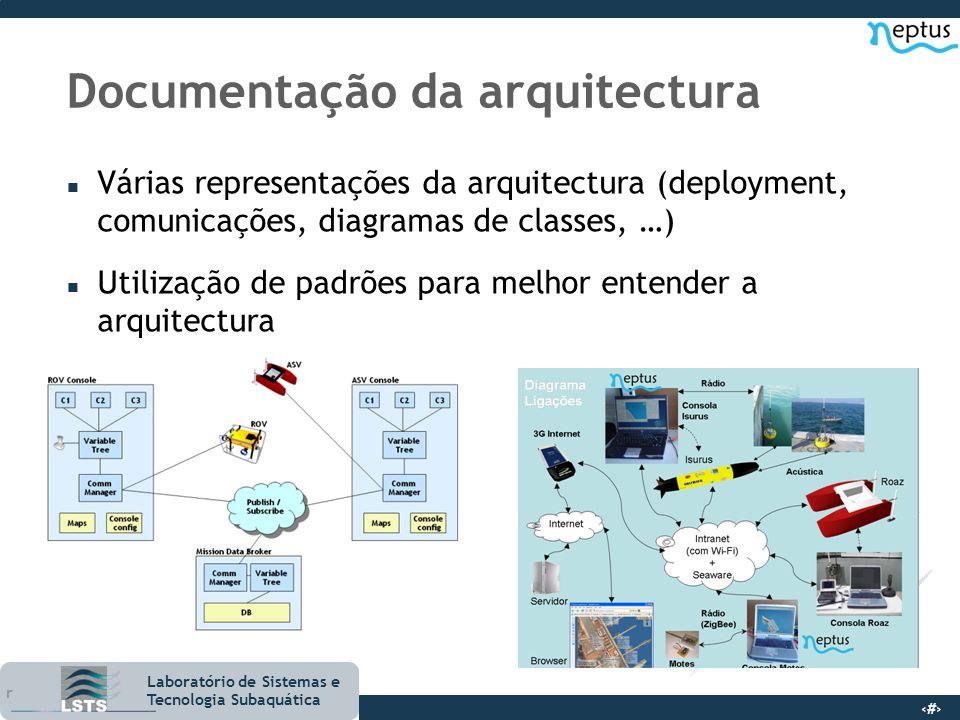 Documentação da arquitectura
