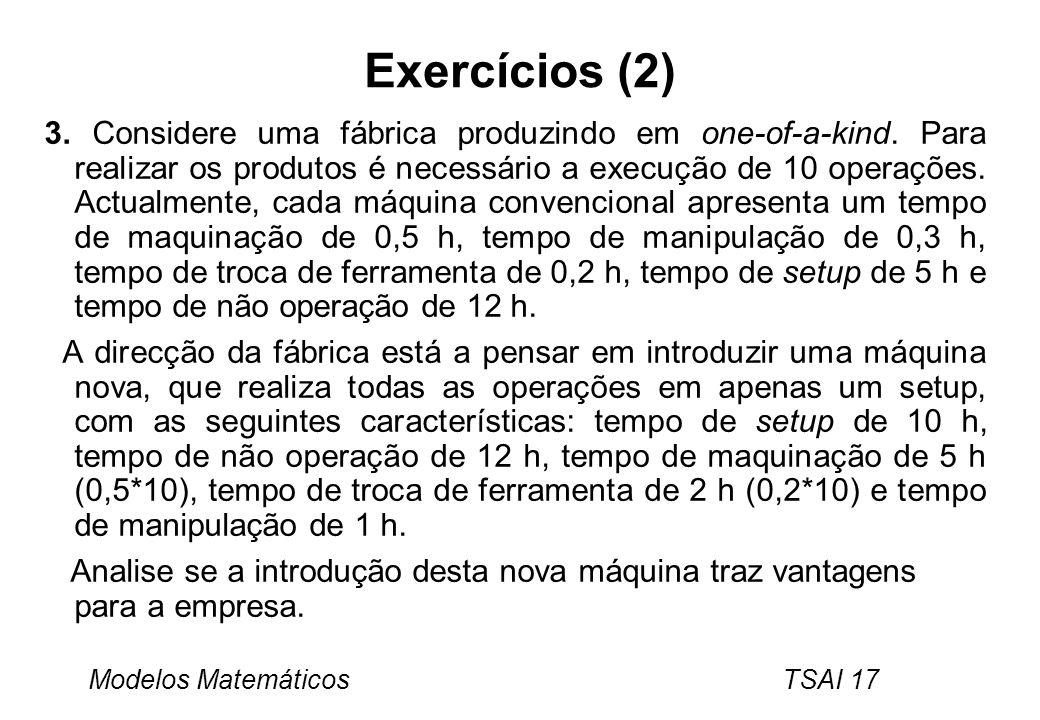 Exercícios (2)