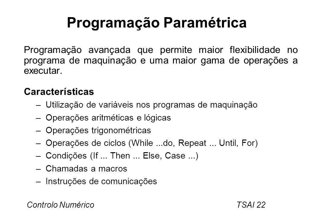 Programação Paramétrica