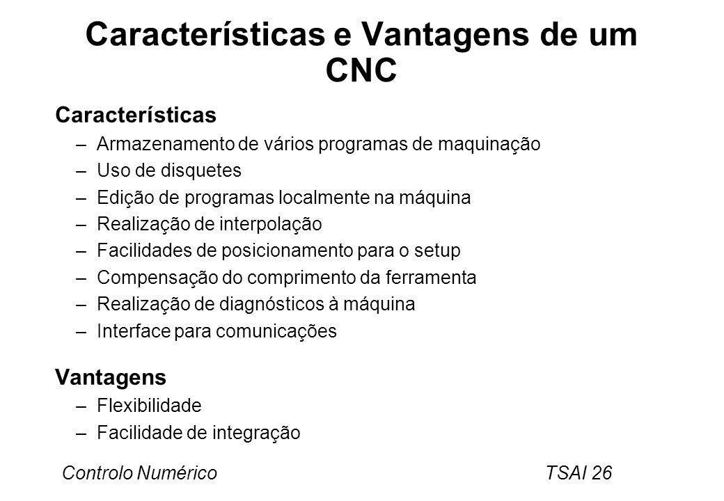 Características e Vantagens de um CNC