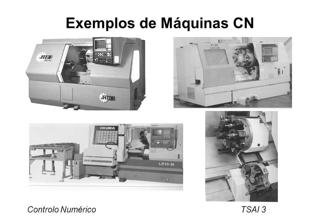 Exemplos de Máquinas CN