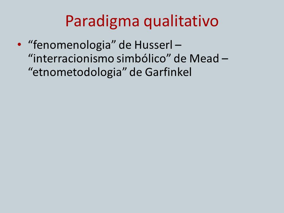 Paradigma qualitativo