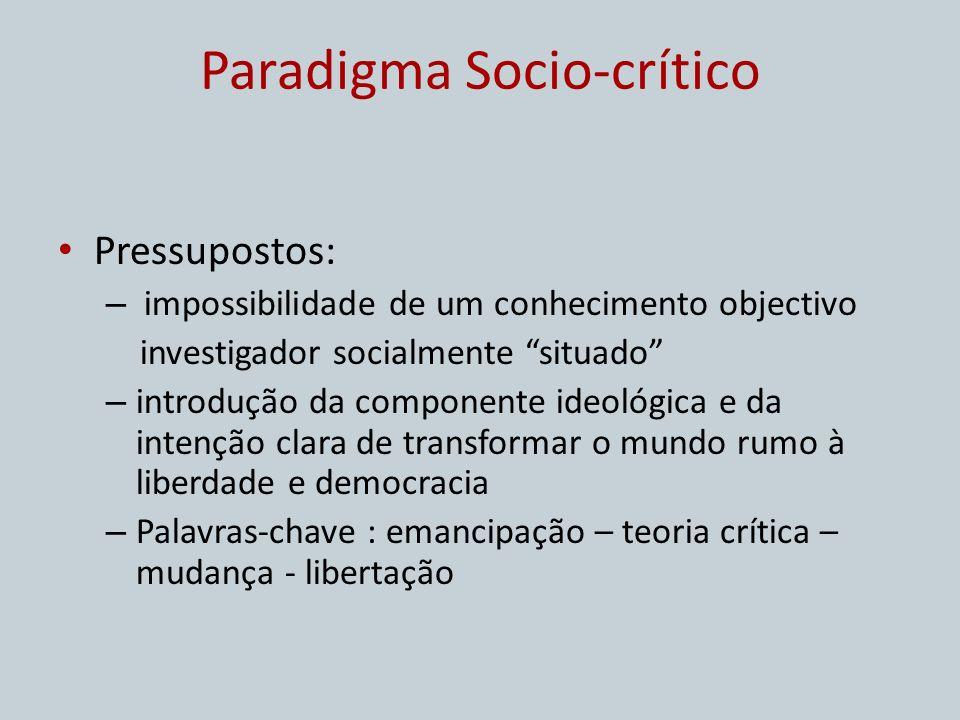 Paradigma Socio-crítico