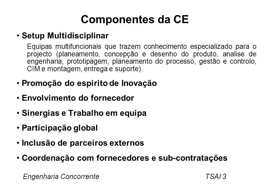 Componentes da CE Setup Multidisciplinar