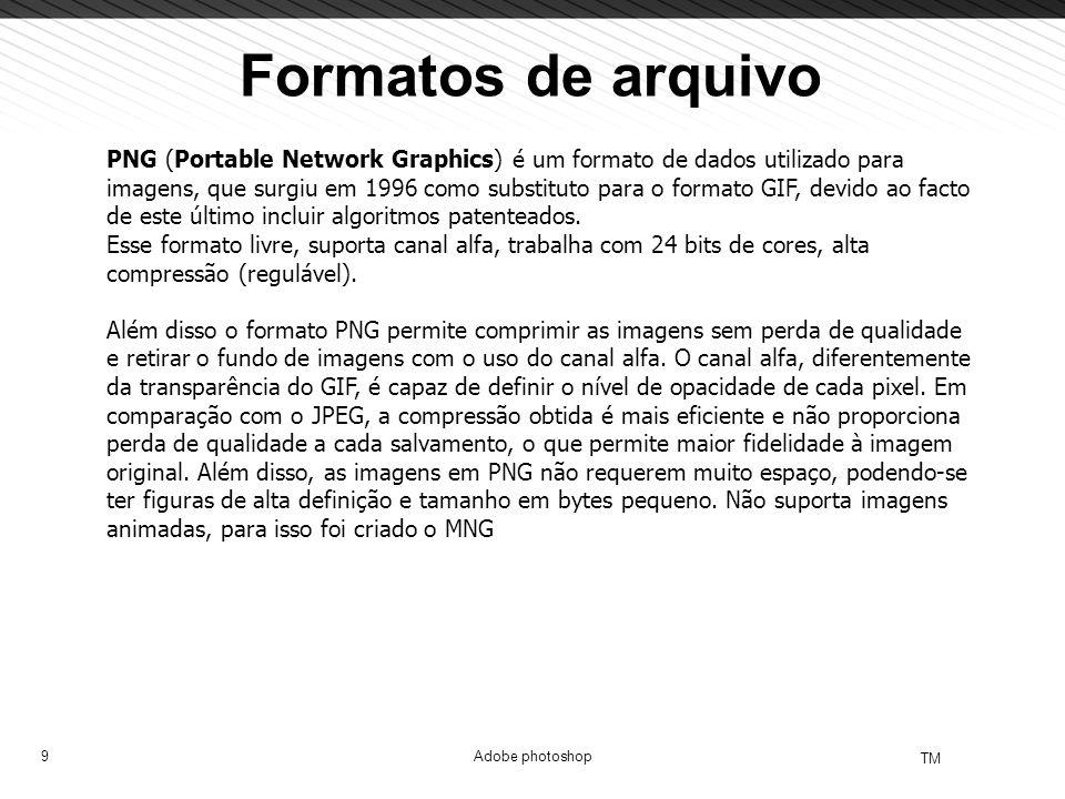 Formatos de arquivo