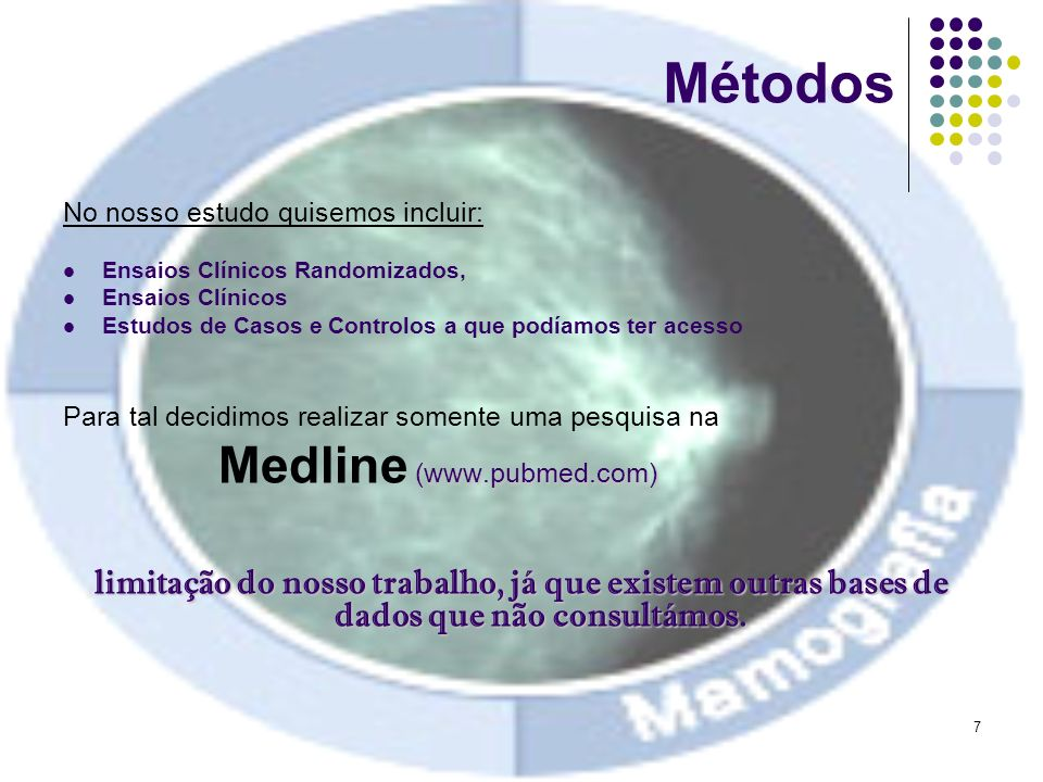 Métodos Medline (www.pubmed.com)