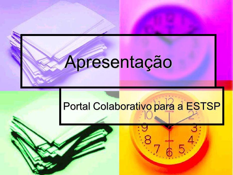 Portal Colaborativo para a ESTSP