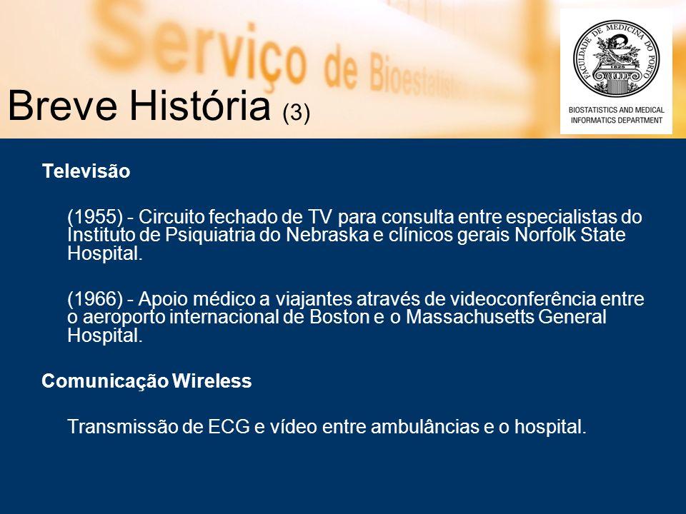 Breve História (3) Televisão