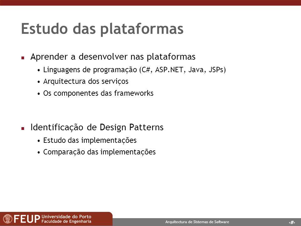 Estudo das plataformas