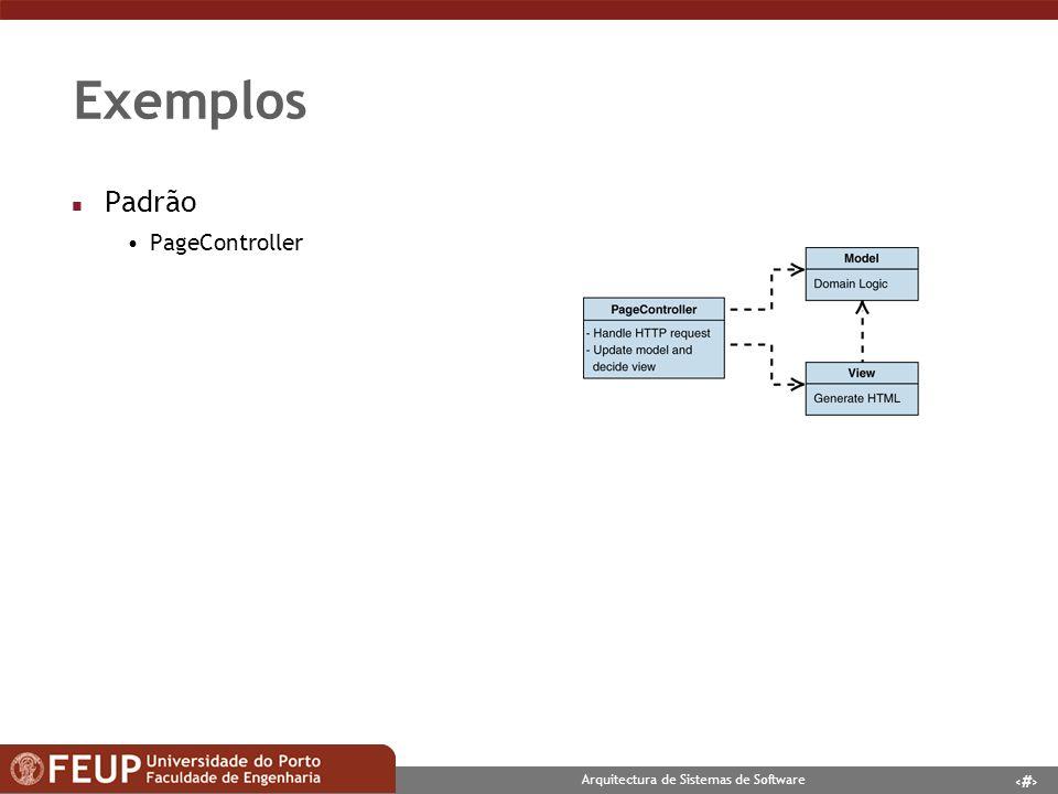 Exemplos Padrão PageController