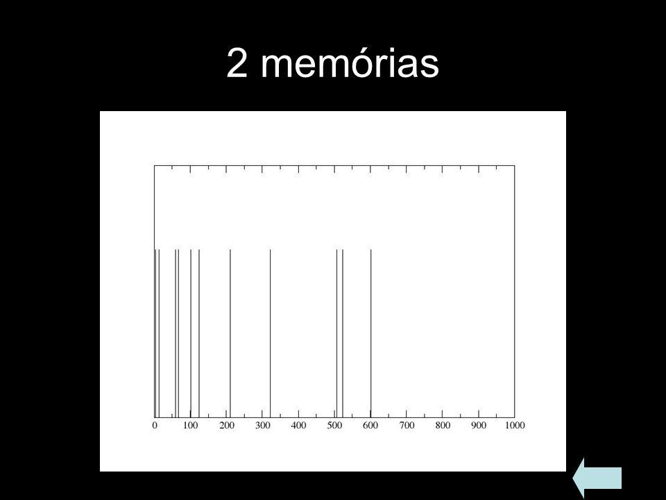 2 memórias