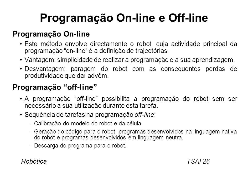 Programação On-line e Off-line