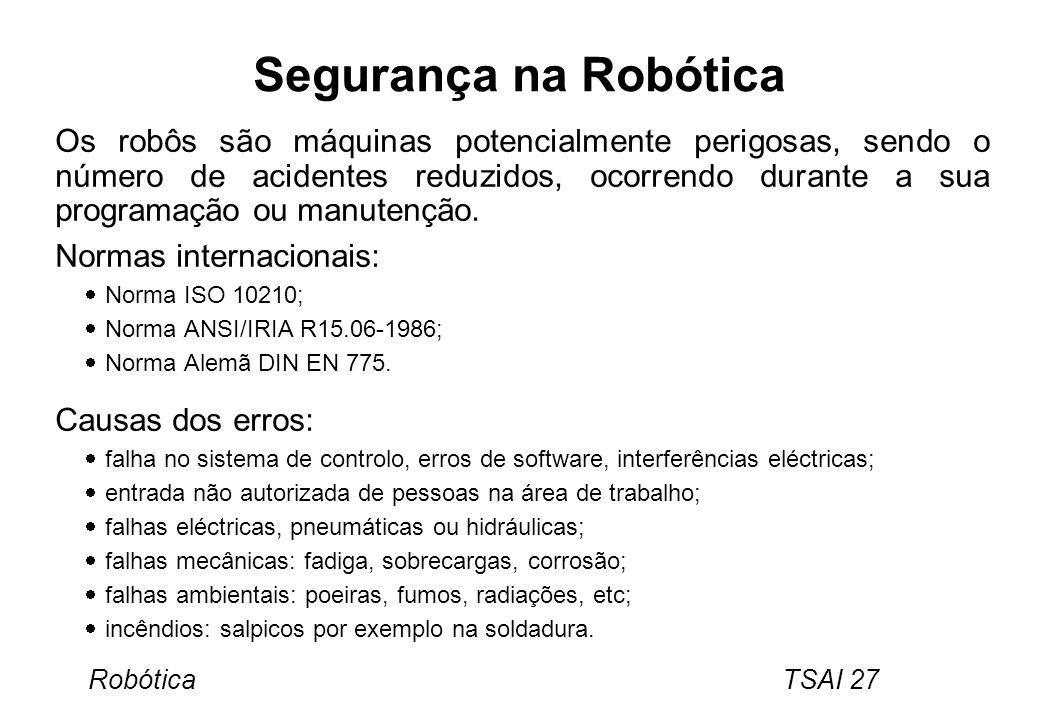 Segurança na Robótica