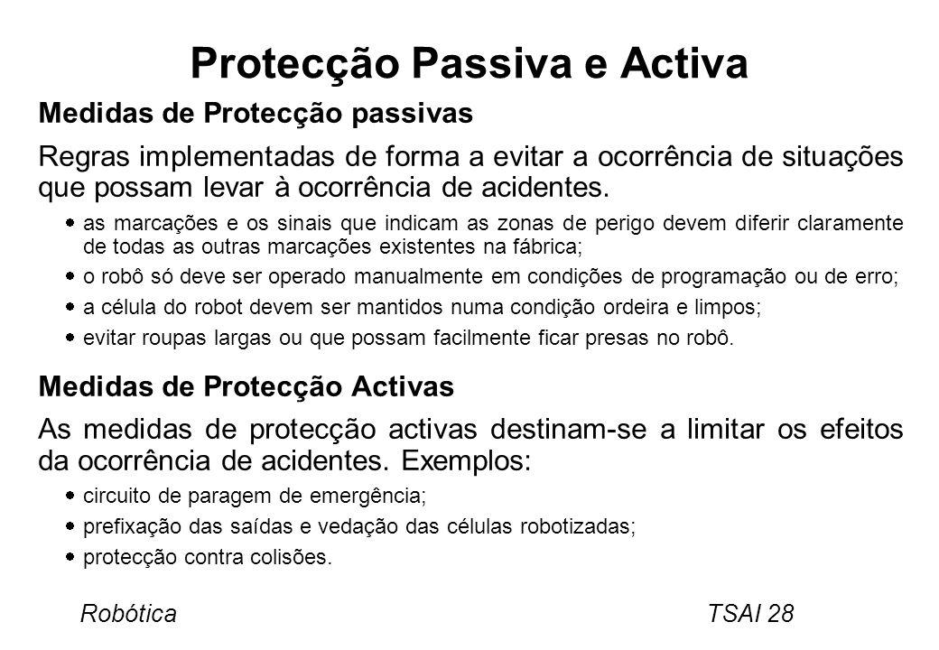 Protecção Passiva e Activa