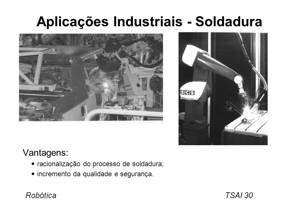 Aplicações Industriais - Soldadura