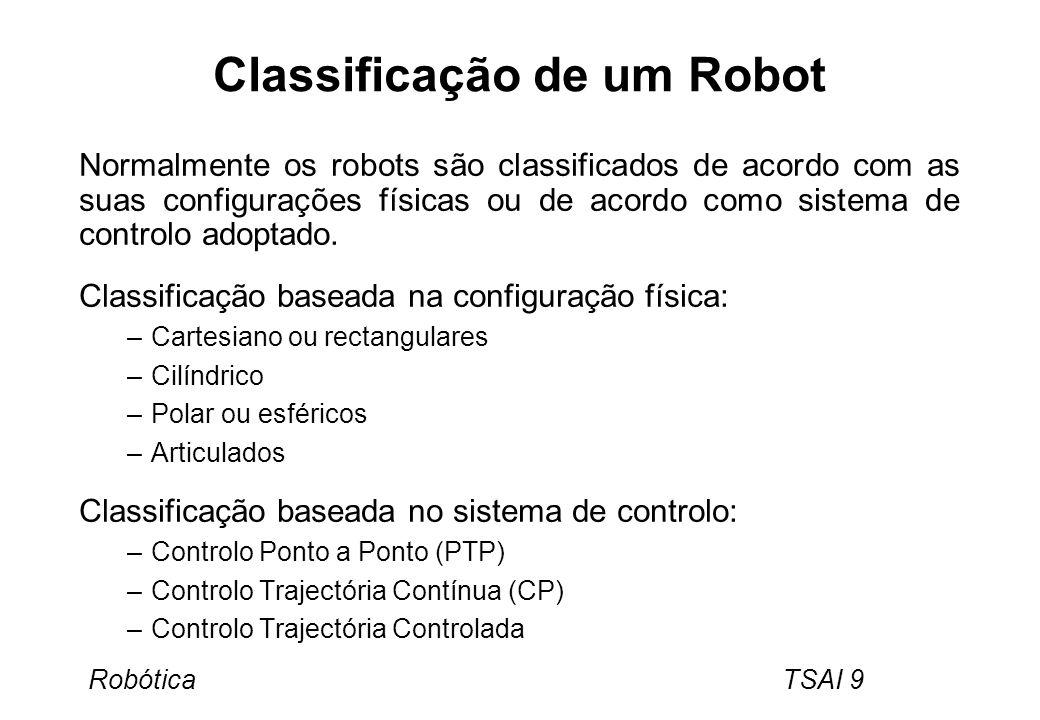 Classificação de um Robot