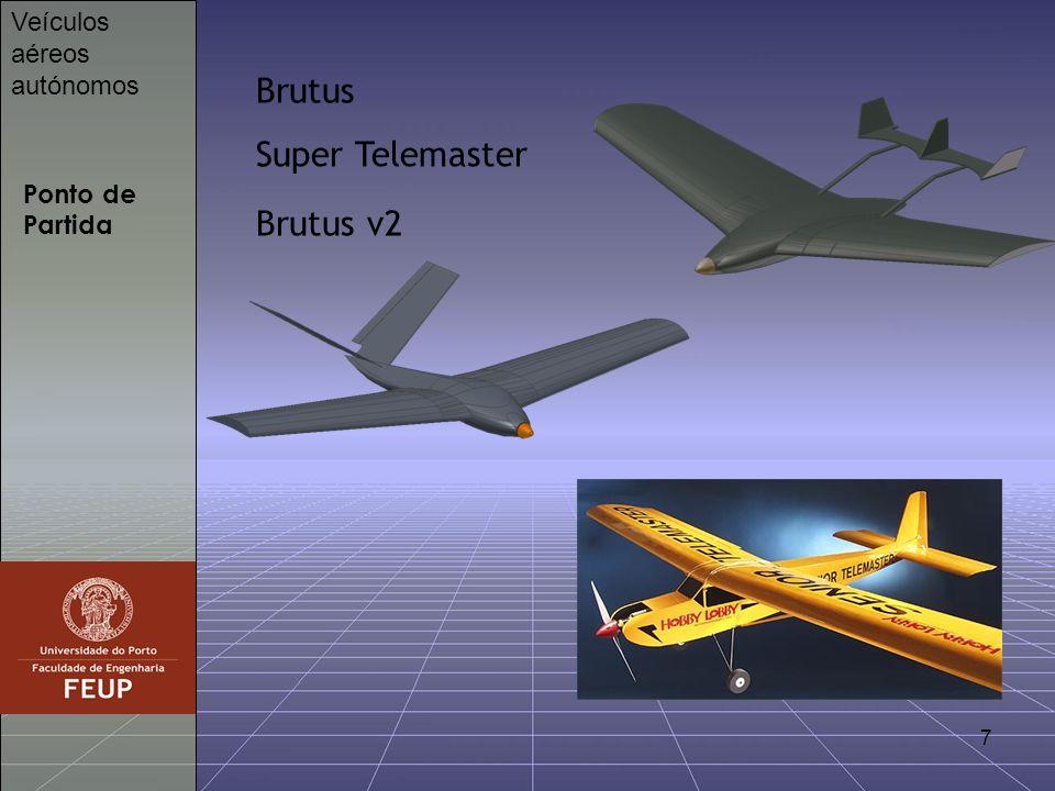 Brutus Super Telemaster Brutus v2 Veículos aéreos autónomos
