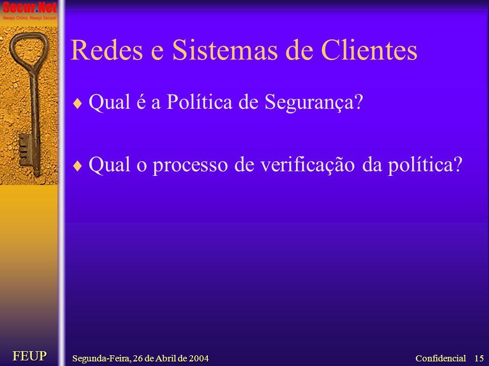 Redes e Sistemas de Clientes