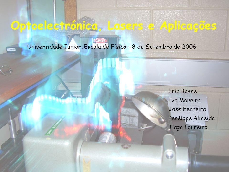 Optoelectrónica, Lasers e Aplicações