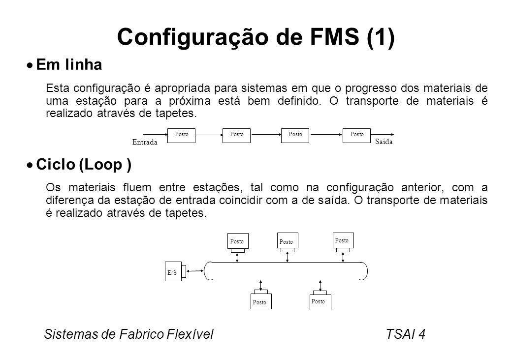 Configuração de FMS (1) Em linha Ciclo (Loop )