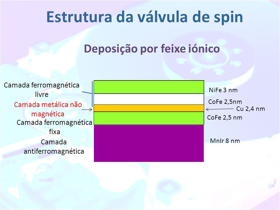 Estrutura da válvula de spin