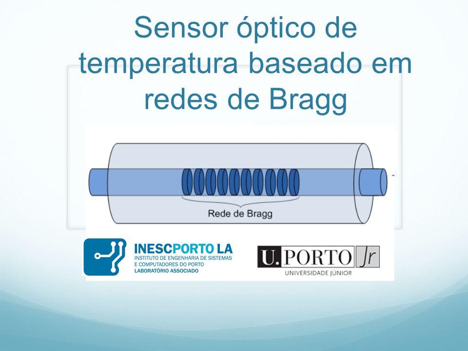 Sensor óptico de temperatura baseado em redes de Bragg