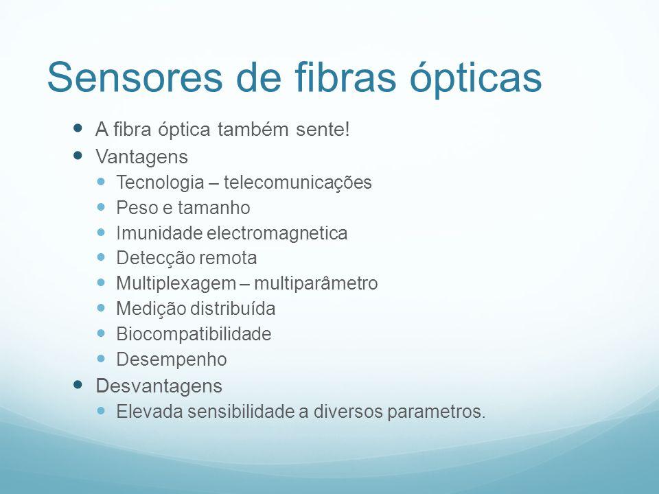 Sensores de fibras ópticas