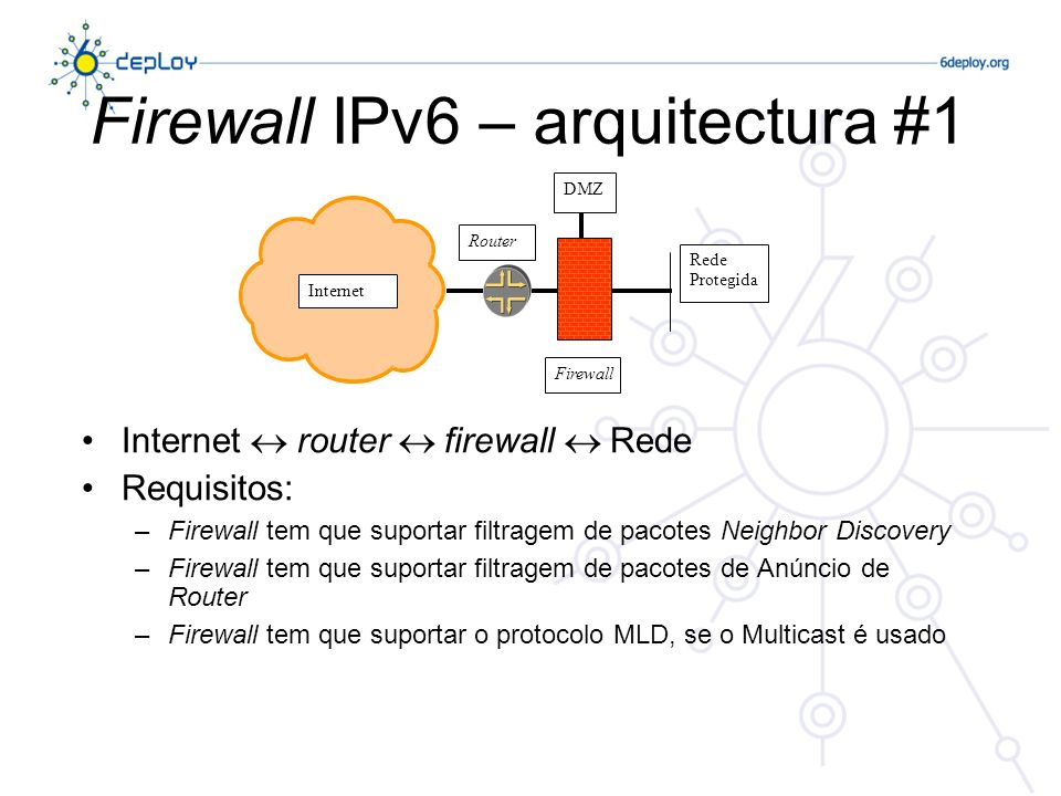 Firewall IPv6 – arquitectura #1