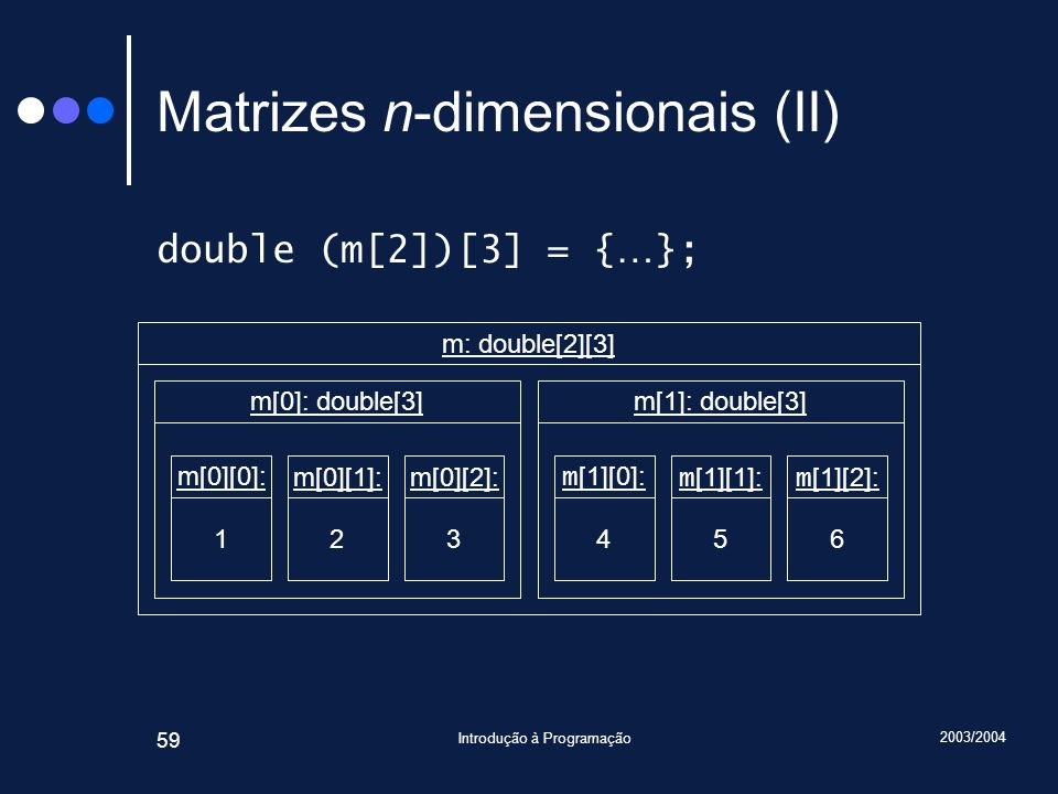 Matrizes n-dimensionais (II)