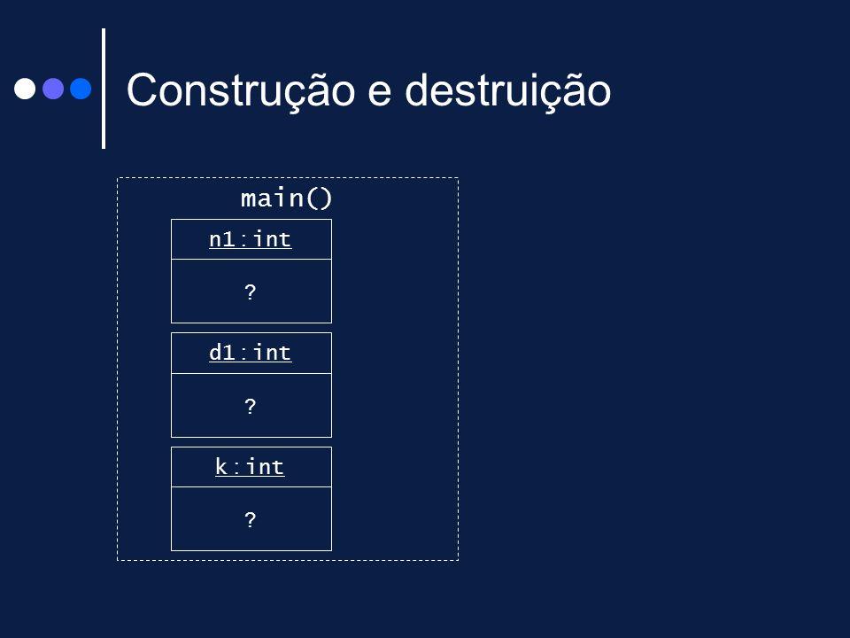 Construção e destruição