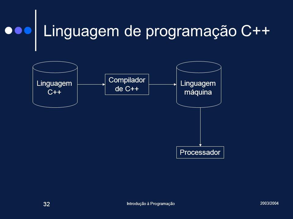Linguagem de programação C++