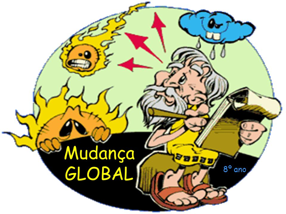 Mudança GLOBAL 8º ano