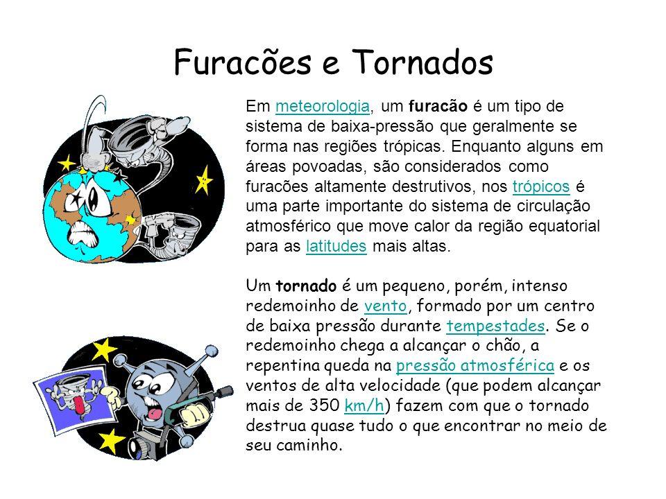 Furacões e Tornados