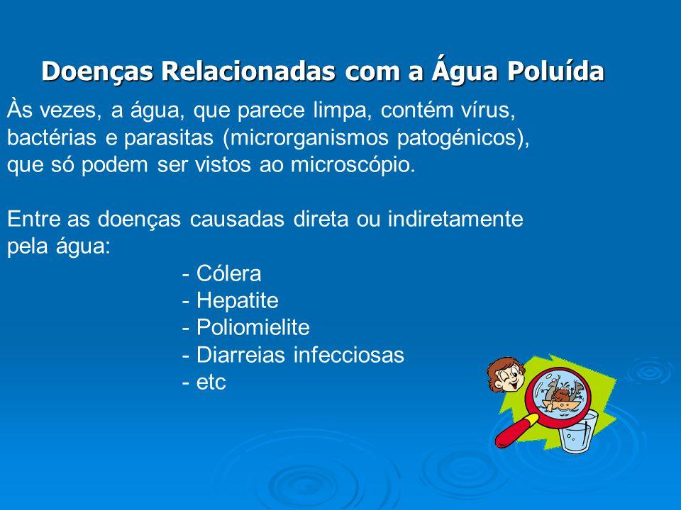 Doenças Relacionadas com a Água Poluída