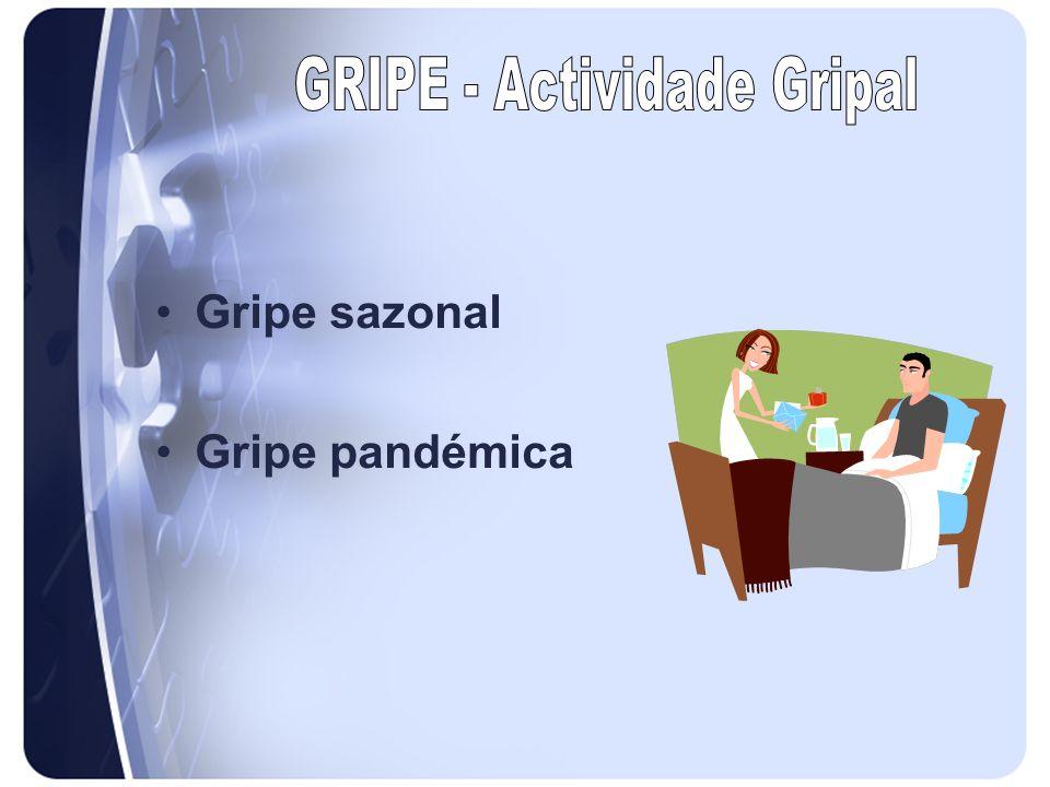 GRIPE - Actividade Gripal