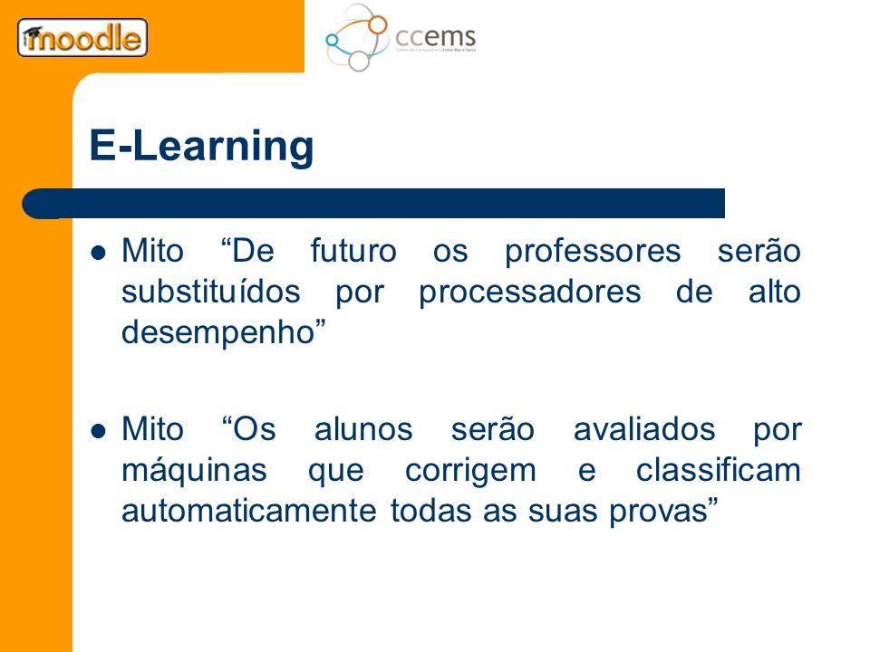 E-Learning Mito De futuro os professores serão substituídos por processadores de alto desempenho