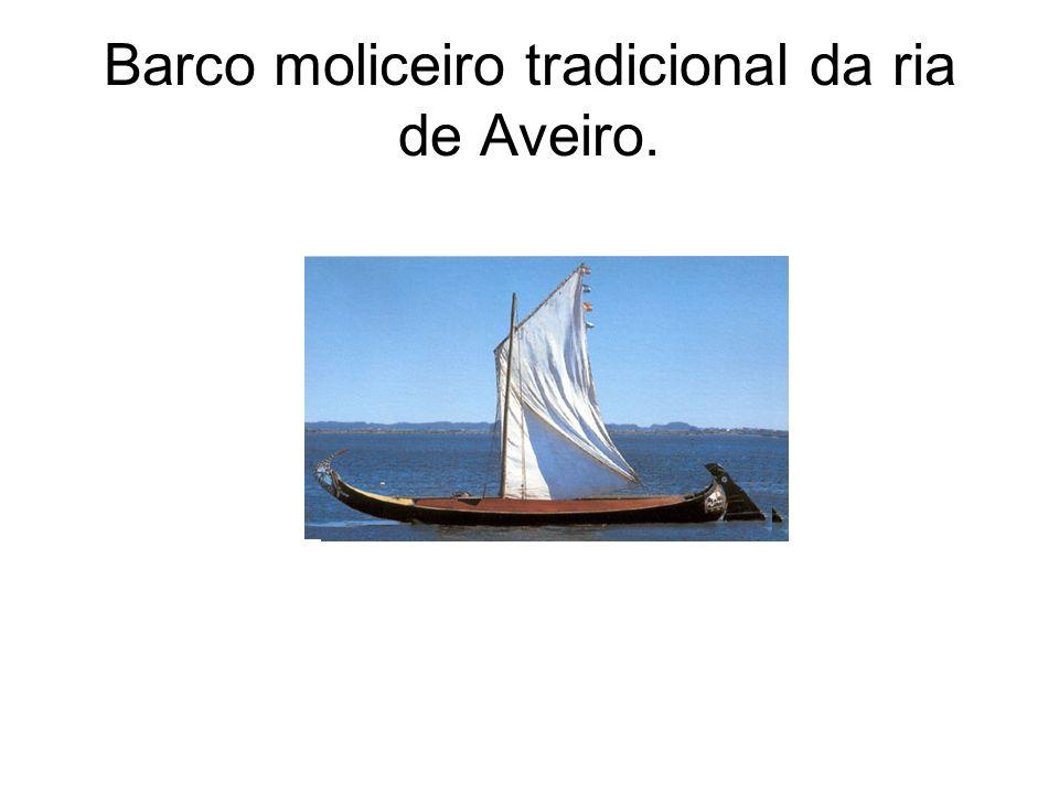 Barco moliceiro tradicional da ria de Aveiro.