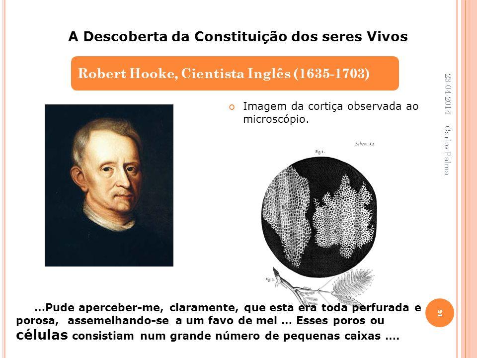 A Descoberta da Constituição dos seres Vivos