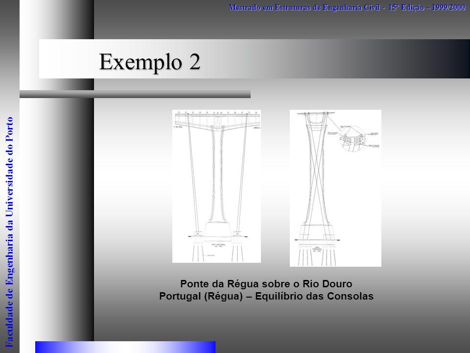 Exemplo 2 Faculdade de Engenharia da Universidade do Porto