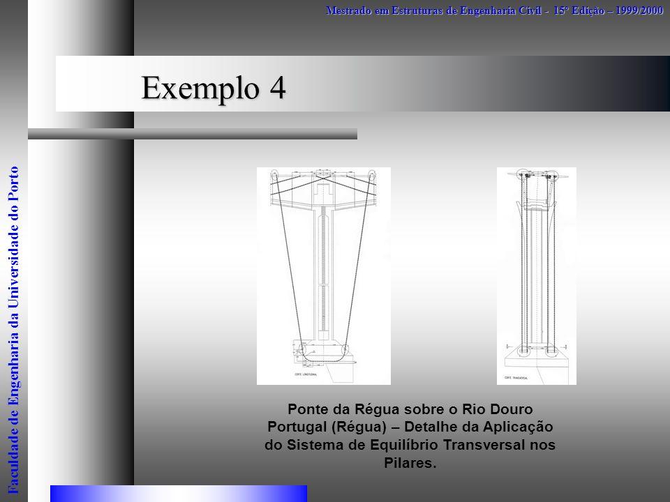 Exemplo 4 Faculdade de Engenharia da Universidade do Porto